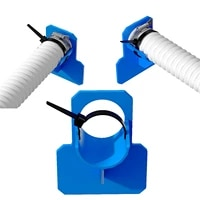 1pc swimming pool pipe holder for hose outlet support brackets for above ground swimming pool with cable tie 3m glue supplies
