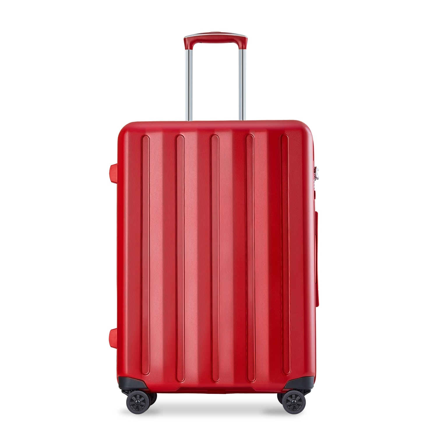 Hardside Luggage with Spinner Wheels,Carry On Suitcases Elegance Trolley Case with TSA Lock,100% PC,for Business Trip&Travel