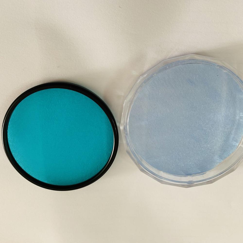 QB21 boyutu 77mm metal çerçeve ile kamera lensi için mavi renkli filtre camı