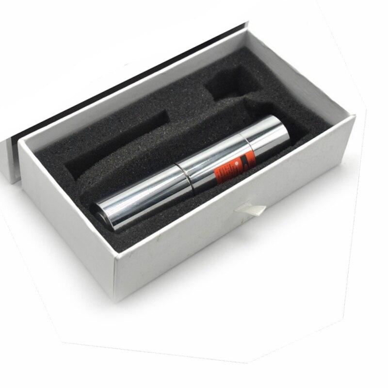 Waterproof 638nm Orange Red Light DS2 638T-800 High Power Adjust Focus Red Laser Pointer enlarge