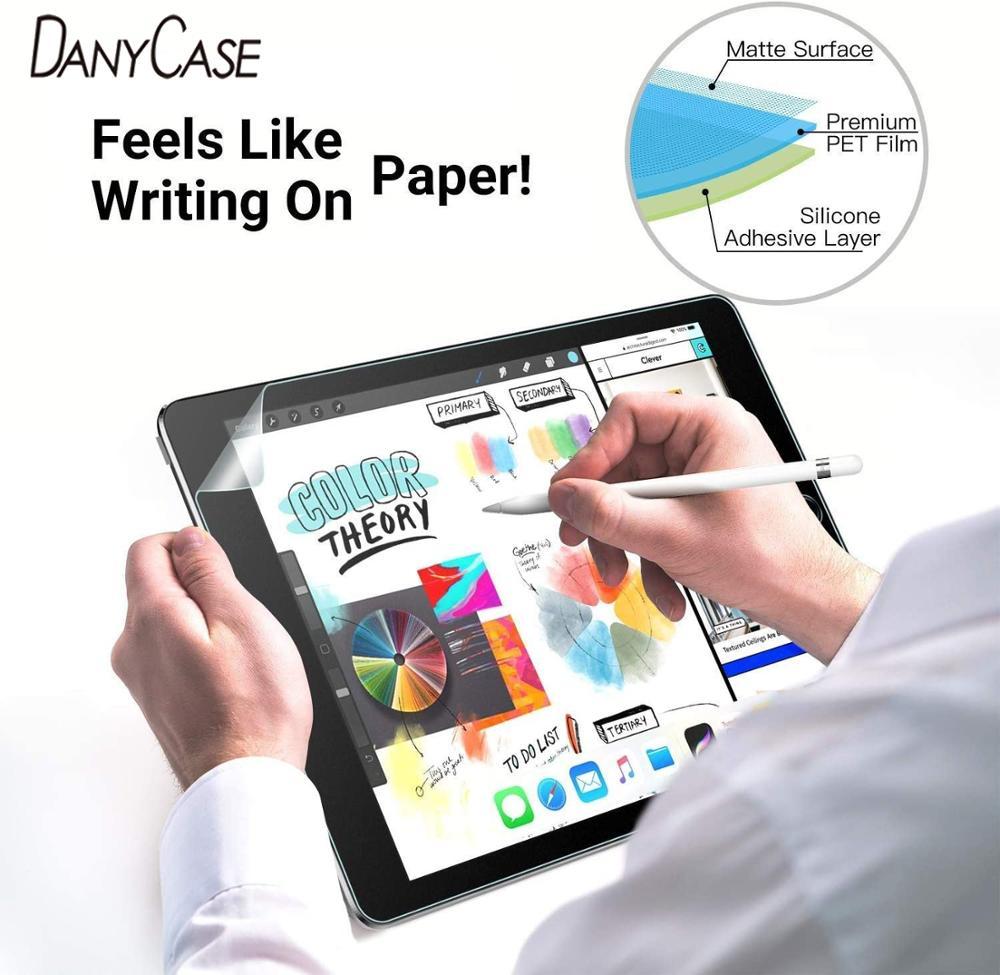 PET Matte 2020 iPad Air 4 Paperlike Flim For Apple iPad 10.9 Anti-Fingerprint Screen Protector For Tablet Drawing Painting Write