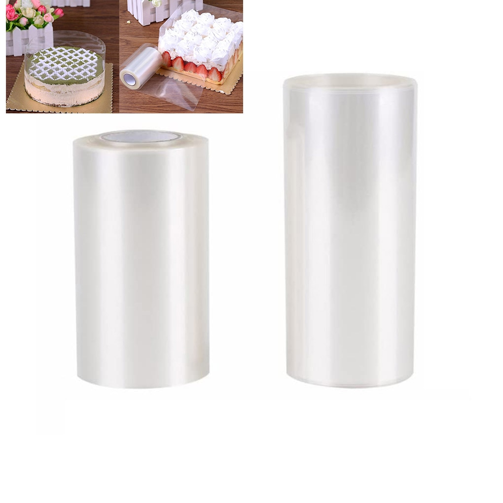 10M Transparent Mousse Cake Edges Wrap Dessert Clear Surrounding Wrapping Tape DIY Baking Film Band Tool