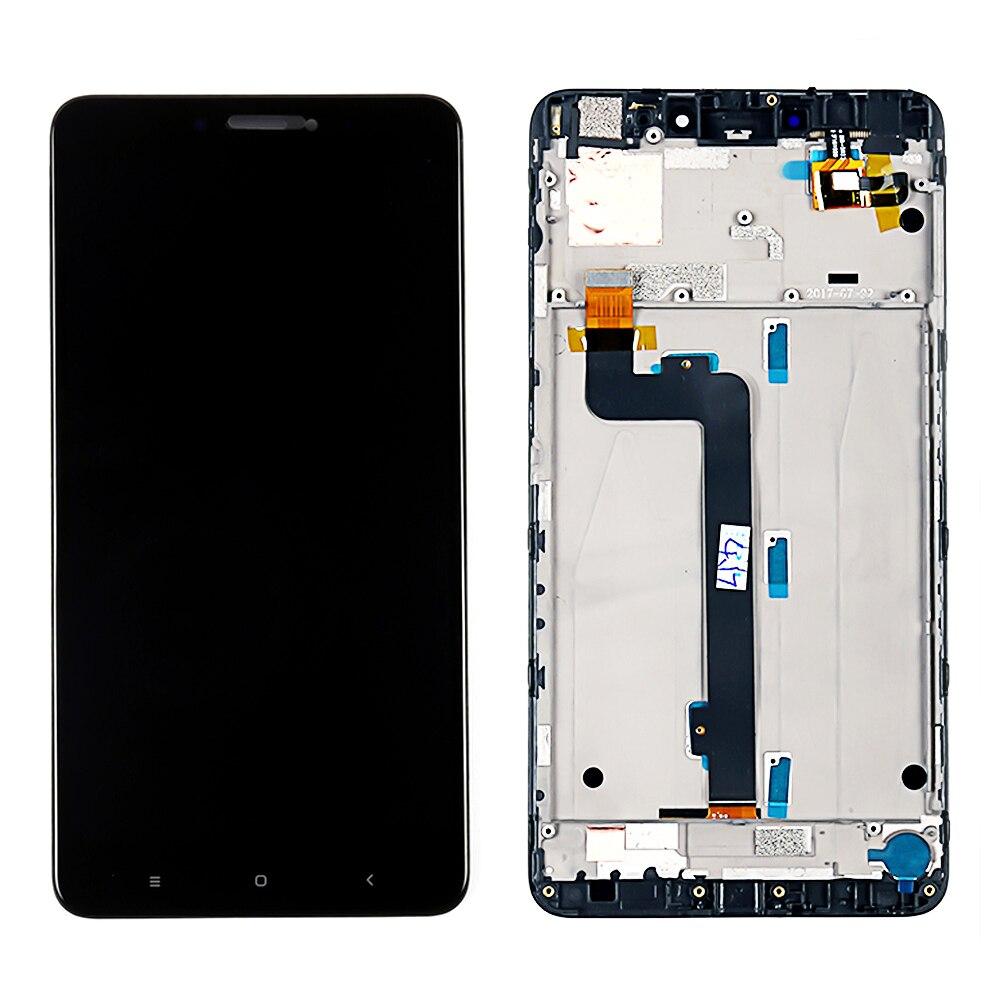 AAA LCD para Xiaomi Mi Max 2 pantalla LCD Digitalizador de pantalla táctil de la Asamblea + marco para Xiaomi Mi Max2 pantalla LCD