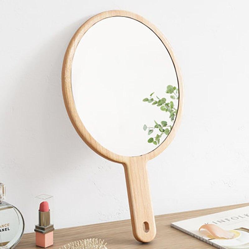 Espejo decorativo Estilo nórdico para decoración De Casa, Mural pequeño De madera...