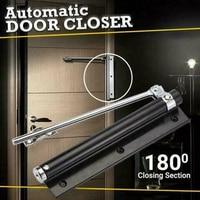 Automatic Door Self-Closing Hinge Mute Easy to Rebound No slotting Punching Free Door Closer MJJ88