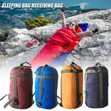 Camping sac de couchage Compression trucs sac loisirs hamac stockage Packs paquet léger pour voyage Camping randonnée
