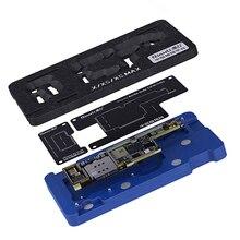 Qianli Middle Layer Board BGA Reballing Stencil Plant Tin Platform for iPhone X XS MAX 11Pro 12 12Pro Logic Board Rework Tool