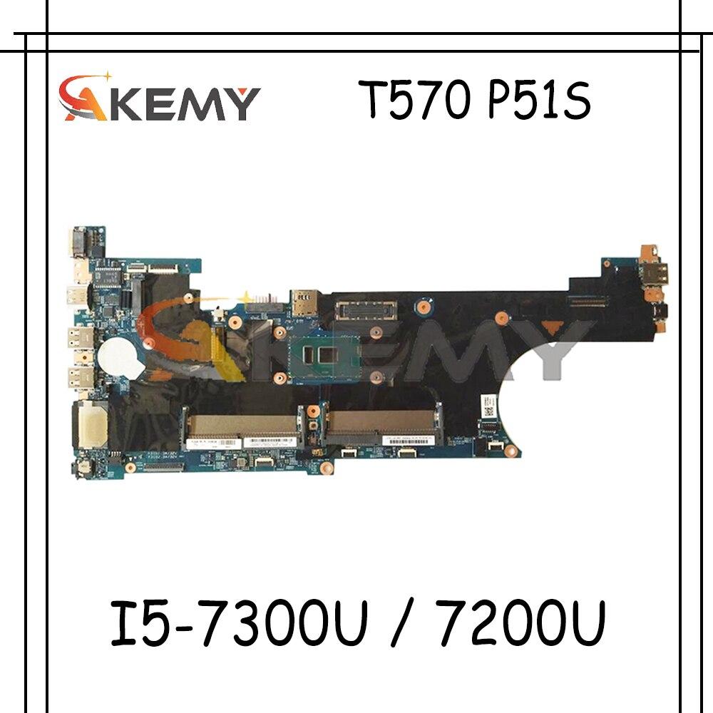 لينوفو ثينك باد T570 P51S اللوحة الأم للكمبيوتر المحمول 16820-1 ث/I5-7300U/7200U الفراء 01ER389 01ER115 01ER385 01YR384 100% اختبار wor