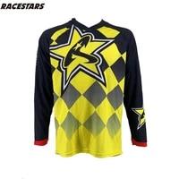 racestars 2020 ropa mtb downhill moto jersey mx long sleeve bicycle jersey men dh t shirt mountain bike riding equipment jersey