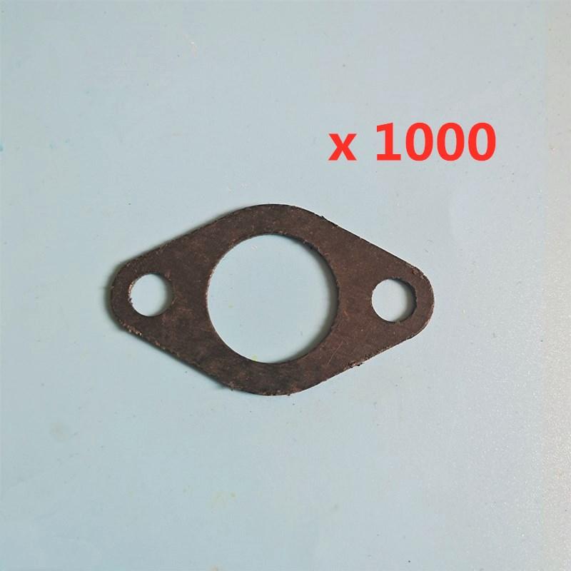 حشية كاتم الصوت العادم ، لهوندا 188F 190F GX390 GX340 GX270 GX240 8HP-13HP ، مولد المحرك ، جزازة العشب ، 1000 قطعة