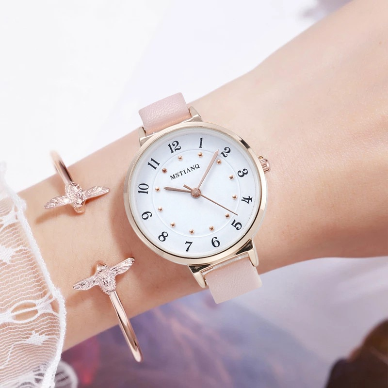 NEW Watch Women Fashion Casual Leather Belt Watches Simple Ladies' Small Dial Quartz Clock Dress Women's watches  Reloj mujer new small daisies watch women fashion casual leather belt watches simple ladies small dial quartz clock dress vsco wristwatches