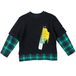 3 4 5 6 Years Boys Shirts Cotton Casual Kids Clothes Plaid Stitching Long Sleeves Tops for Boys Toddler Baby Shirt Autumn 2019