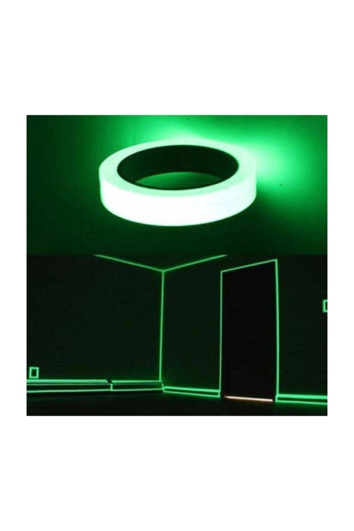 Luminous tape 4m-400cm Self-illuminating strips Stage decor shine tape Fluorescent light-storing tape Safety Warning Tape