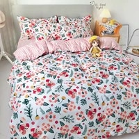 home textile dense fashion cactus stars soft duvet cover pillow case bed sheet king queen twin high quality for home bedding set