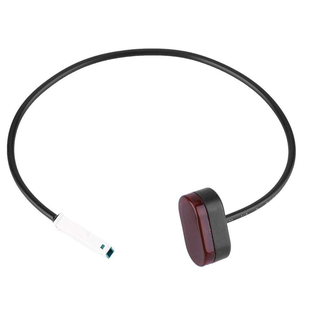 Para xiaomi mijia m365 m187 pro scooter elétrico lâmpada traseira da cauda stoplight luzes de freio com linha transporte rápido