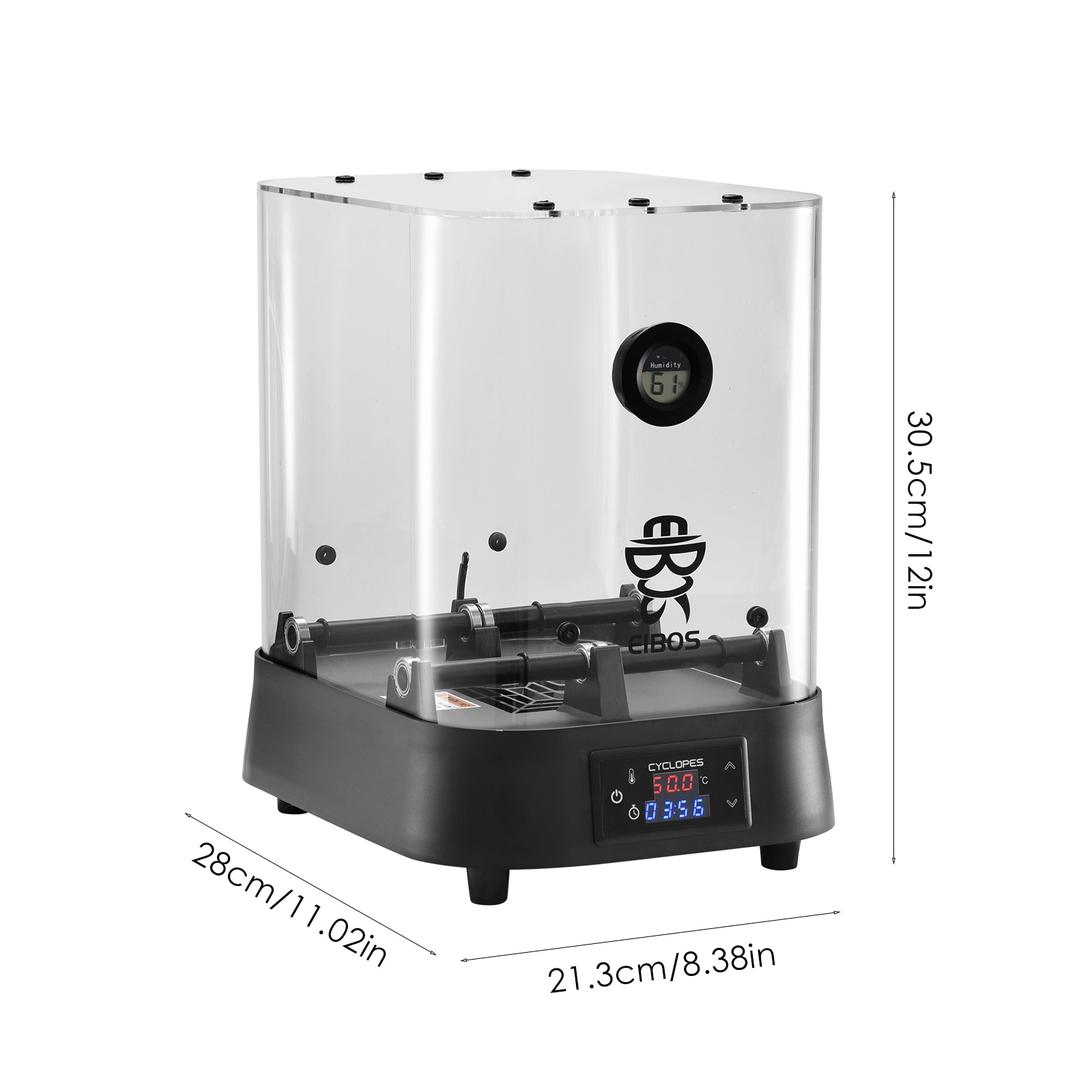 EIBOS 3D Filament Drying Box Adjustable Temperature Time For 1.75 Mm 2.85 Mm And 3.00 Mm Keeps Filament Dry During Printing enlarge