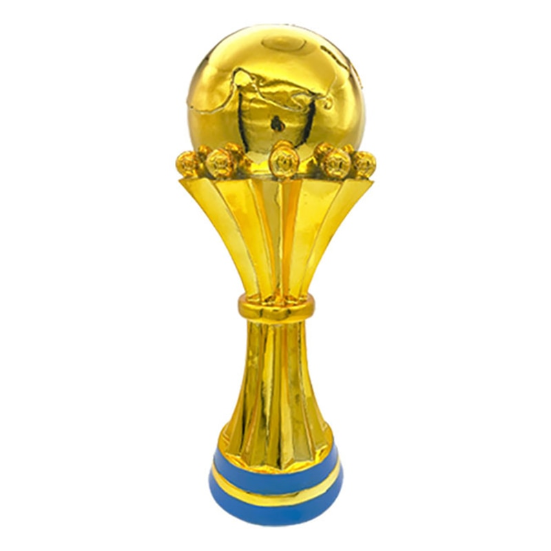 High Quality African Cup Trophy Souvenirs Championship Award Cup Replica Football Trophies 42CM Model Soccer Fans Souvenir Gifts