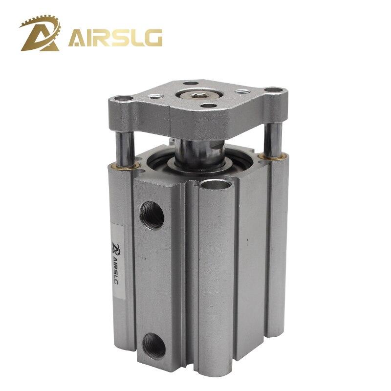 Varilla de guía de doble acción cilindro neumático de aire compacto imán incorporado CDQMB 20 25 32 diámetro 20 25 32mm carrera 5-100mm CQMB20 25