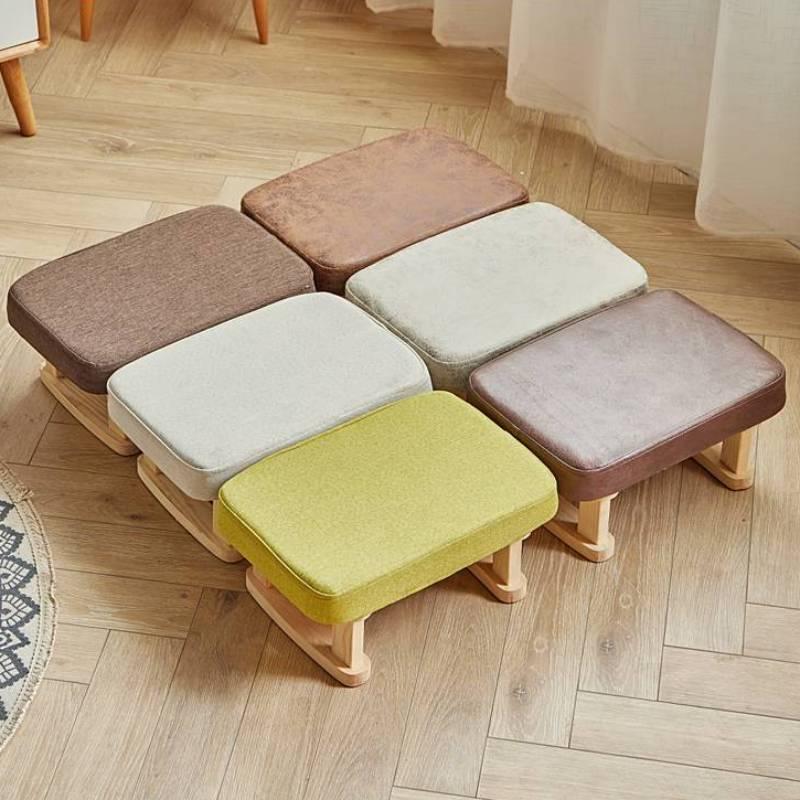 Детская мебель Solid Wood табурет Children Small Stool Household Baby Adult Sofa Taburete Cocina Fashion Cloth Hall Shoe Bench