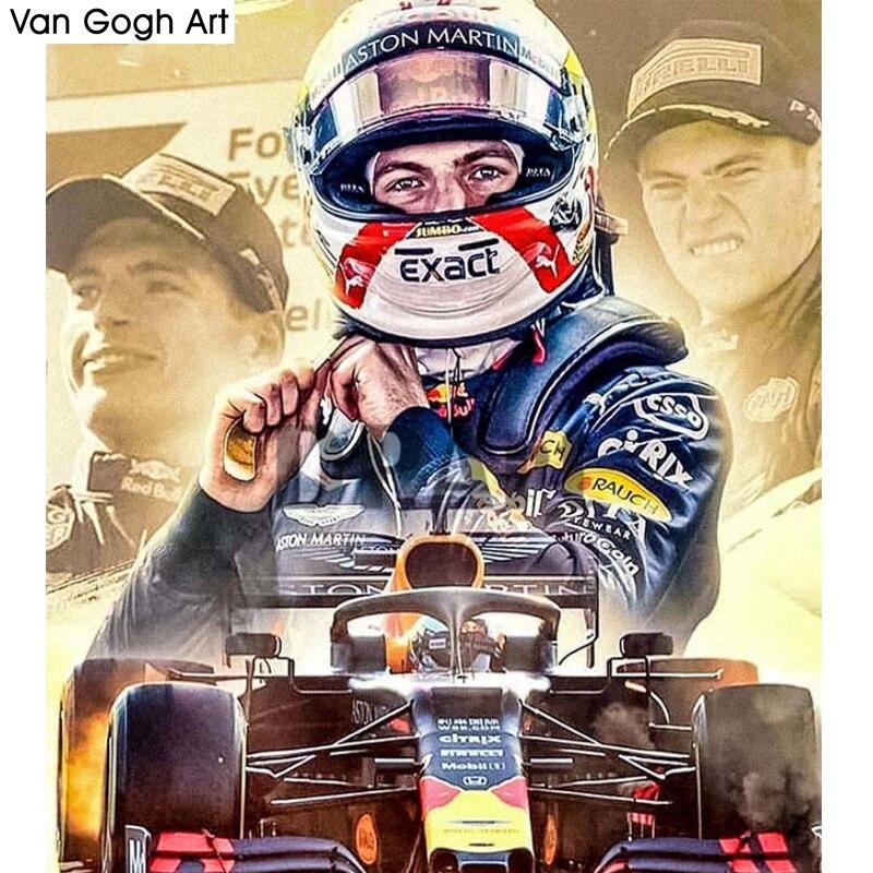 Daimond картина полная квадратная/круглая дрель F1 соревнование игрок 5D алмазные Стразы вышивка крестом Набор Подарок