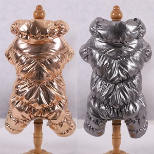 Warm Dog Clothes For French Bulldog Pug Chihuahua Yorkies Clothes Winter Pet Puppy Coat Jacket Dogs Pets Clothing Ropa Perro