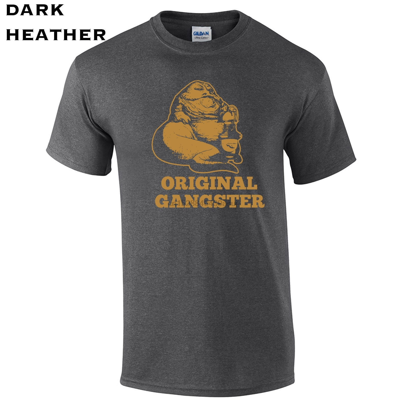 566 Original gánster Jabba para hombre Camiseta hut funny jedis star galaxy skywalker envío gratis Harajuku tapas moda clásica