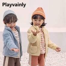 Wholesale Girls Winter Coat Toddler Girl Winter Thick Coats Wool Coat Girls Jackets Kids Winter Clot