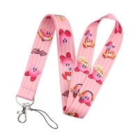 fd0181 game kabi of the stars lanyard neck strap rope for mobile cell phone id card badge holder with keychain keyring