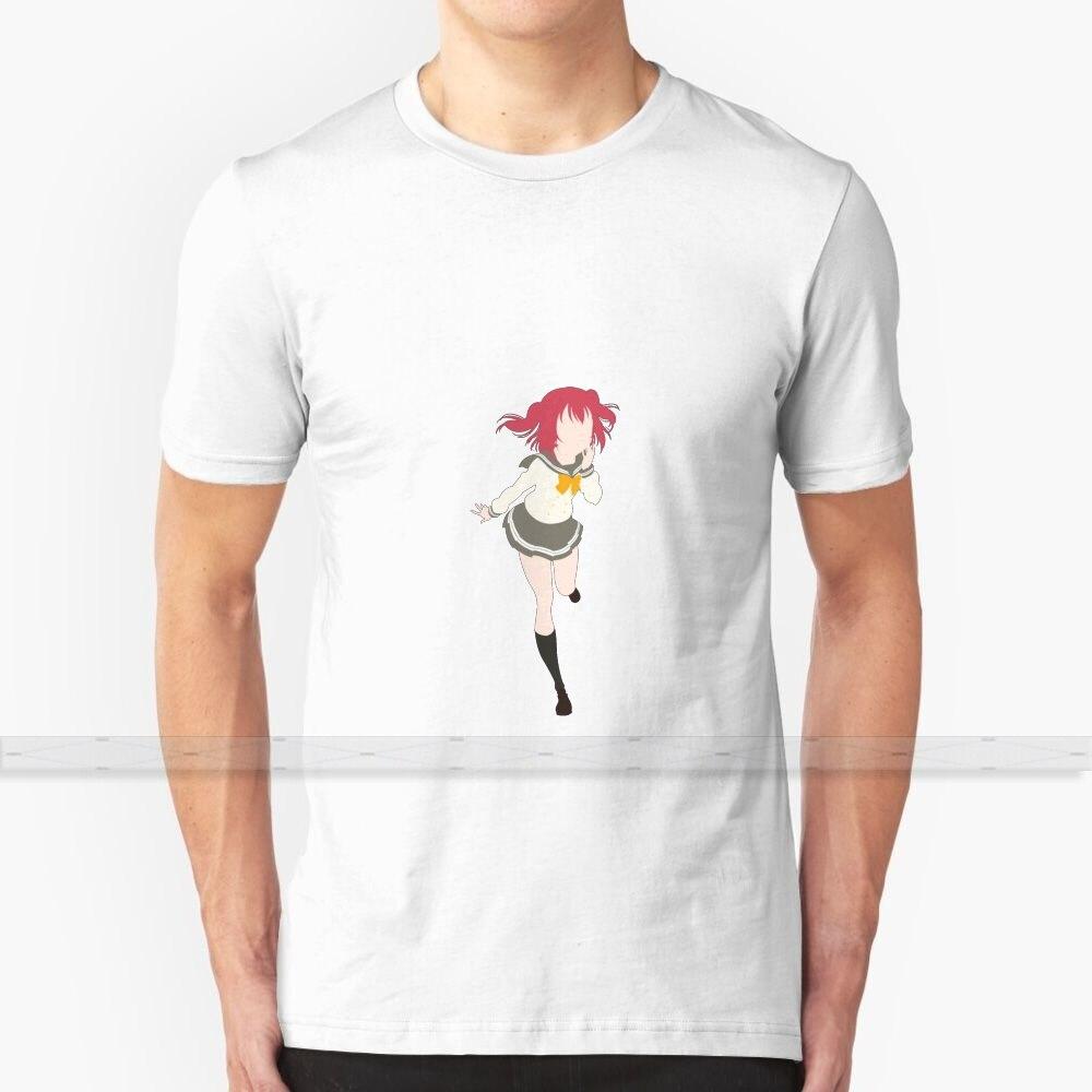 Amor Ao Vivo! Luz do sol!! -Kurosawa ruby minimalista camiseta masculina impressão 3d verão topo em torno do pescoço camisas femininas aqours aquours