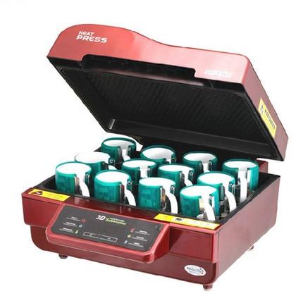 3D Multifunctional Sublimation Heat Press Machine For Mug Cup Phone Case 3d Vacuum Heat Transfer Machine enlarge