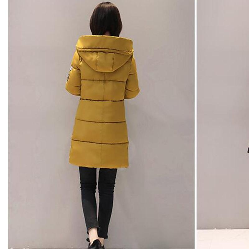 Парка размер мягкая тонкая теплая Женская куртка с капюшоном пальто пуховая парка верхняя одежда 3XL зимняя женская осенняя хлопковая парка