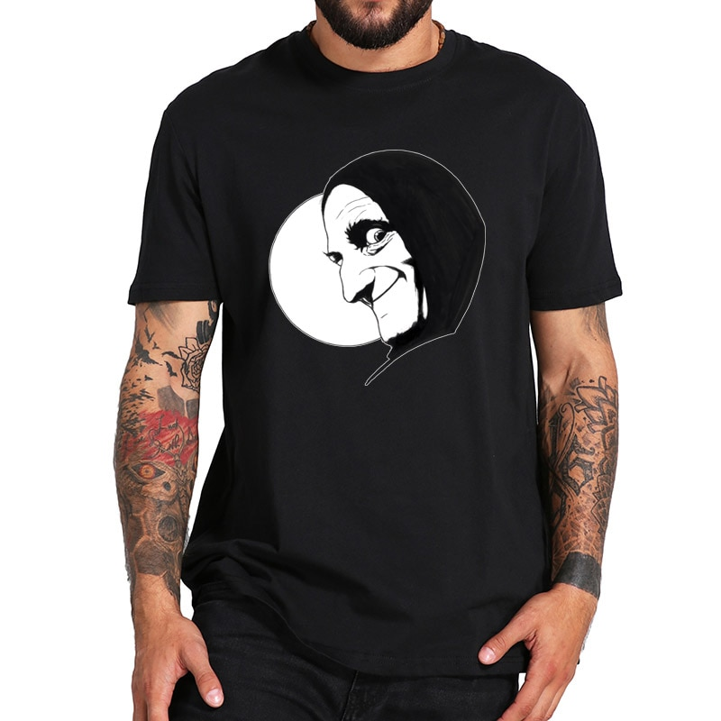 Camiseta joven de Frankenstein, camiseta de películas, camiseta de talla europea, pantalón corto informal de alta calidad con cuello redondo, Tops básicos de manga corta