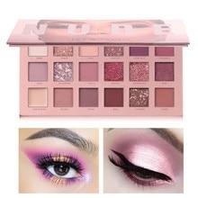 18 Color Eyeshadow Huda Mashed Potatoes Eyeshadow Pearly-lustre Matte Sunset Desert Rose Eyeshadow Tray