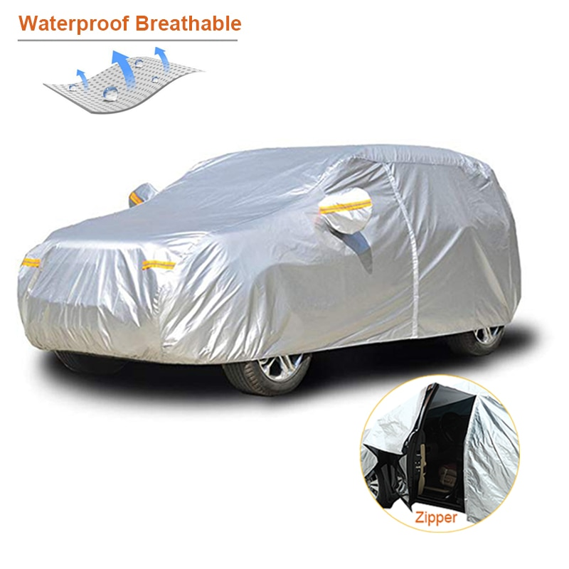 AliExpress - Kayme waterproof car covers outdoor sun protection cover for car reflector dust rain snow protective suv sedan hatchback full s