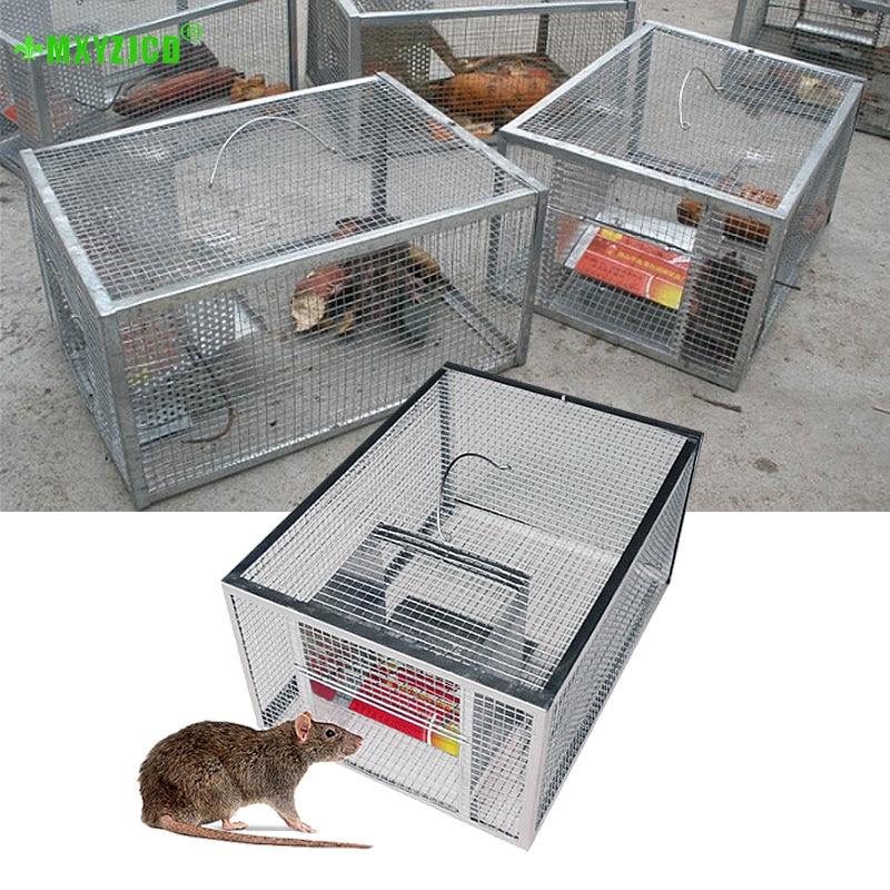 Haushalt Kontinuierliche Mausefalle Große Raum Automatische Ratte Schlange Falle Käfig Sicher Und Harmlos Hohe Effizienz Mausefalle