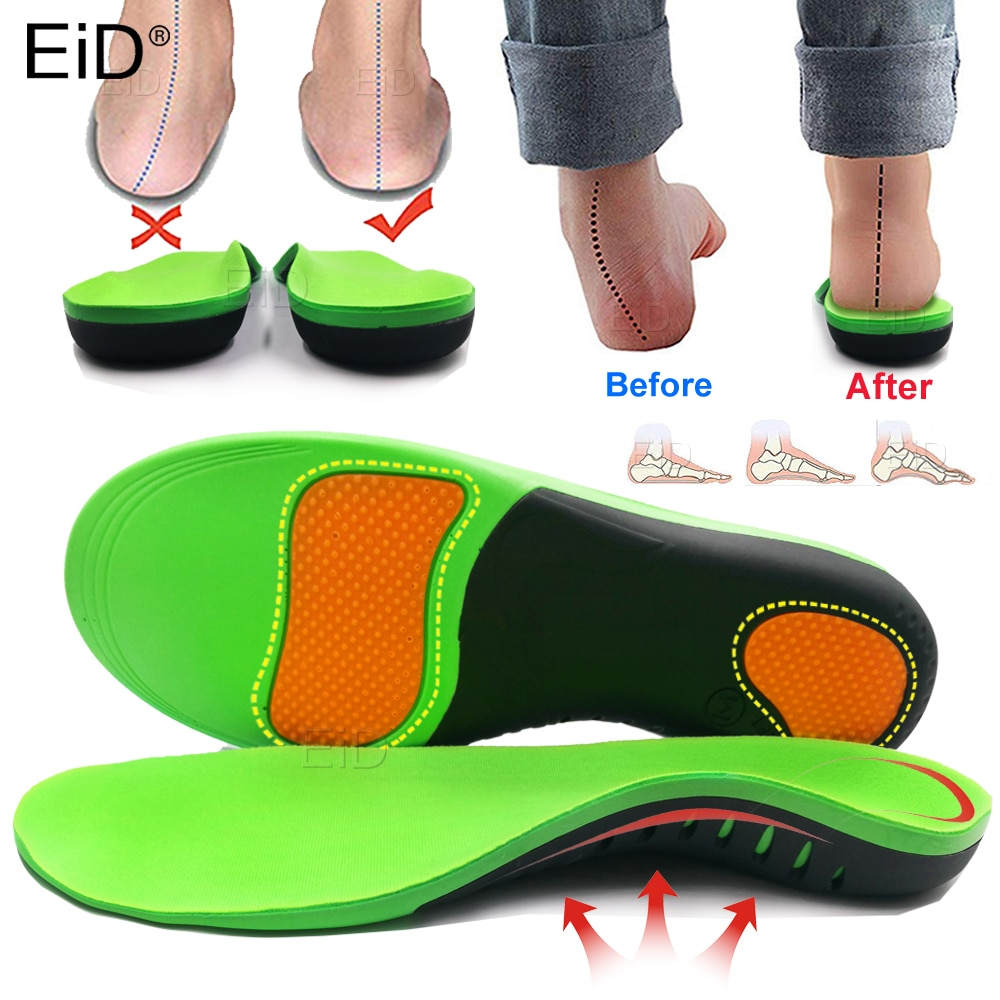 Best EVA Orthopedic Shoes Sole Insoles For feet Arch Foot Pad X/O Type Leg Correction Flat Foot Arch