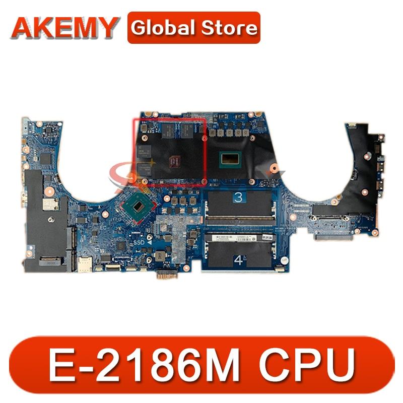محمول لوحة رئيسية لأجهزة HP ZBOOK 15 G5 SRCKQ E-2186M اللوحة DA0XW2MBAG0 L28695-001 L28695-601 N18P-Q3-A1