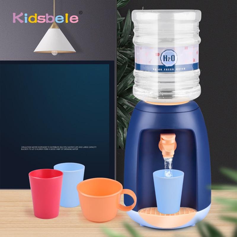 Children Watery Mini Drinking Fountain Toy Simulation Appliance Toy Interesting Birthday Toy Kitchen