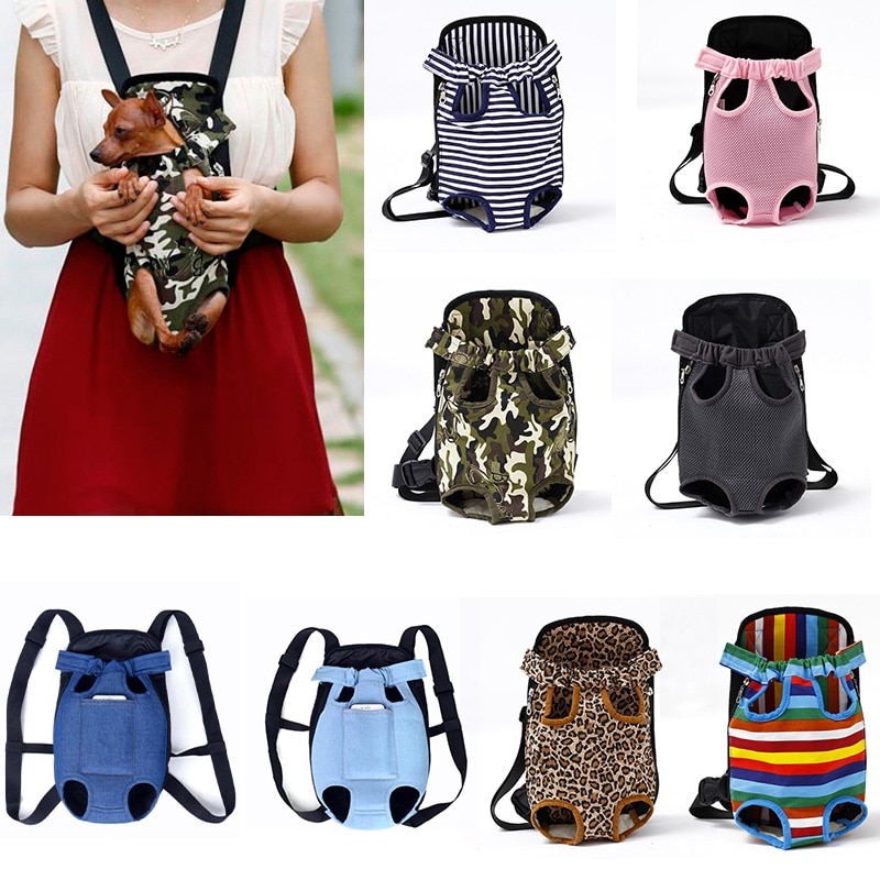 Mesh Pet Dog Carrier Backpack Breathable Camouflage Outdoor Travel Products Bags For Small Dog Cat Chihuahua Mesh Backpack