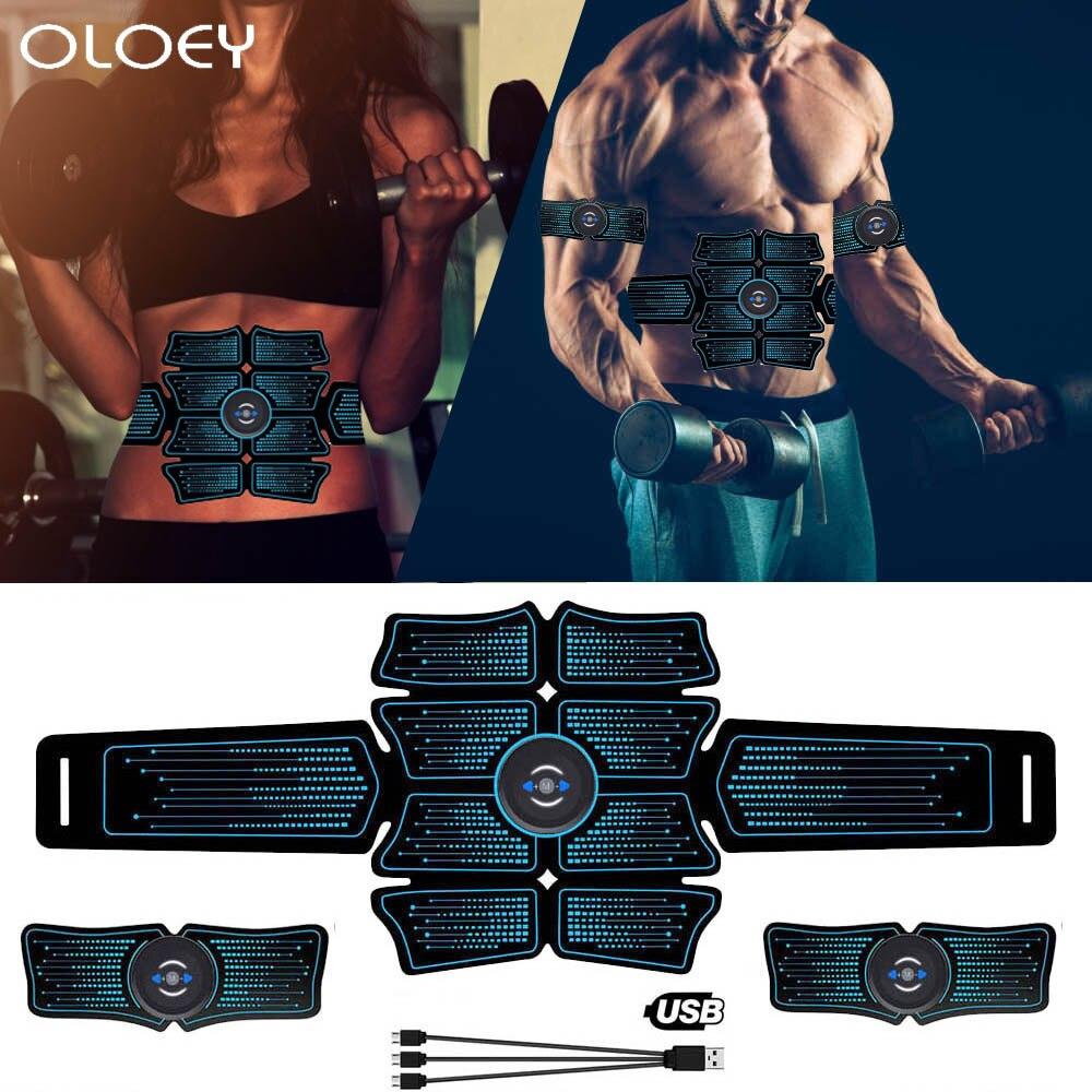 EMS Recharge, equipo deportivo inteligente inalámbrico, estimulación electromagnética vibratoria de músculos esculpidos en el gimnasio de los entrenamientos caseros