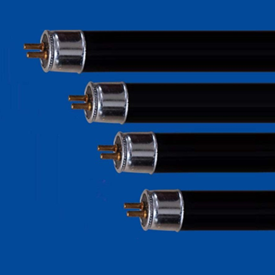 2-pacote t5 4w 6w 8w de poupança de energia uv preto luz azul tubo reto, 365nm uva luz, blb, luz roxa, t8 10w 15w