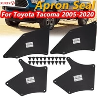 fender liners splash shield for toyota tacoma 2005 2020 apron seal mud flaps mudflaps mudguards guards skirt wclips retainer