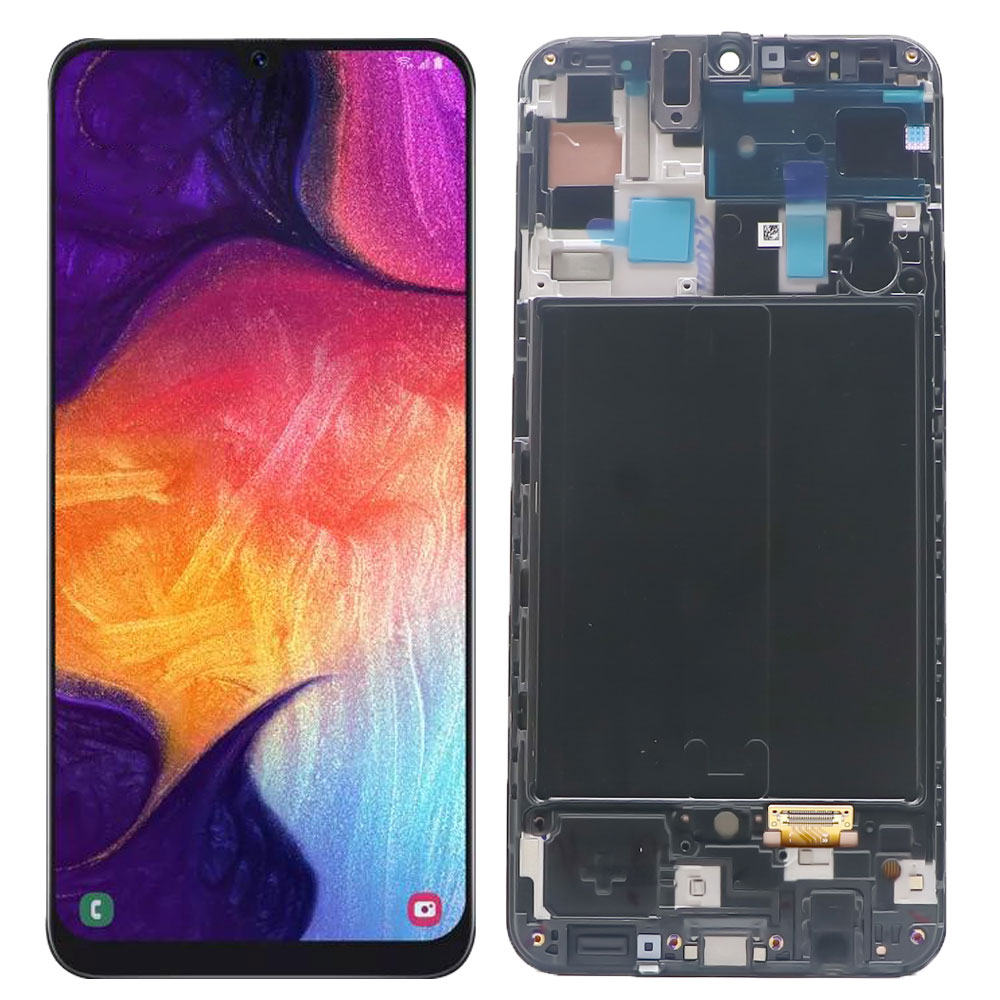 Original Super AMOLED For Samsung Galaxy A50 A505FN/DS A505 LCD Display Touch Screen Digitizer For Samsung A50 A505F lcd screen enlarge