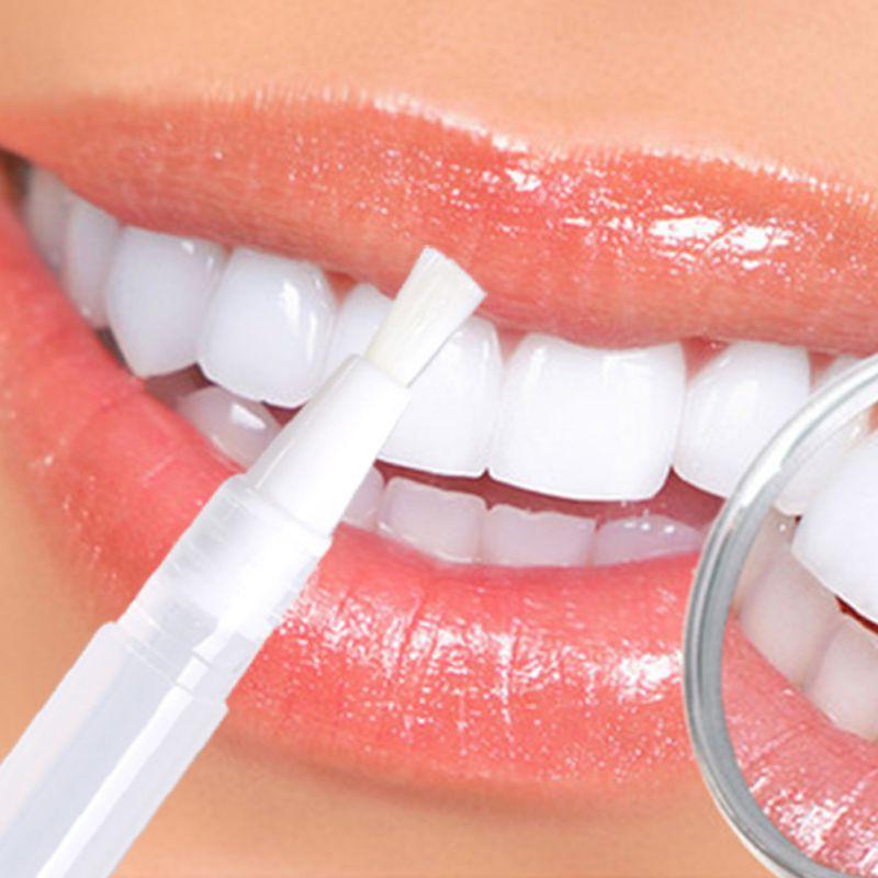 Transparent White Teeth High Strength Whitening Gel Pen Tooth Whitener