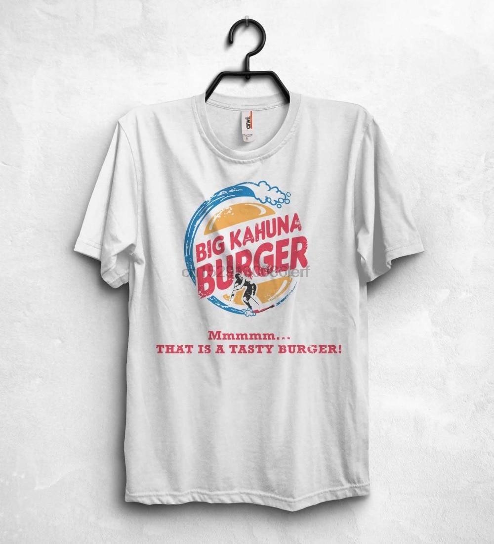 2019 nueva camiseta de marca de moda Big Kahuna hamburguesa camiseta Pulp Fiction Bad Netflix Tarantino