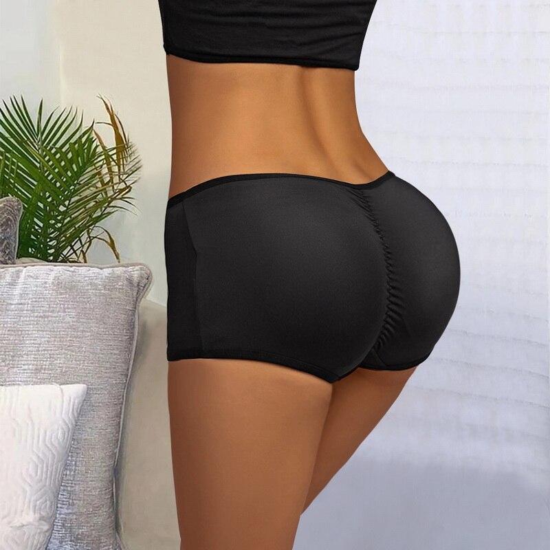 Women'S Sweat Pants Breathable Body Shaper High Waist Shaping Control Panties Slimming Underwear Sea