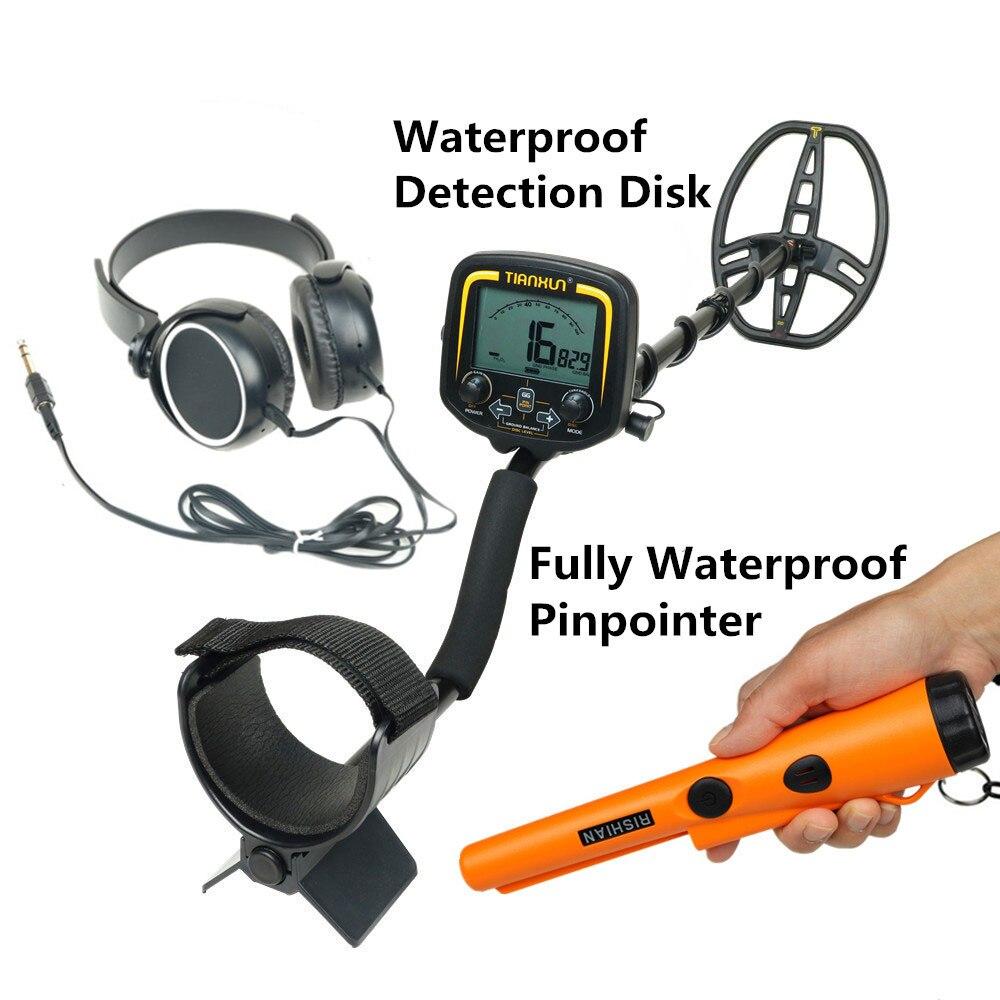 جهاز الكشف عن المعادن تحت الأرض عالي الحساسية ، مجموعة TX 850 ، مؤشر مقاوم للماء بالكامل