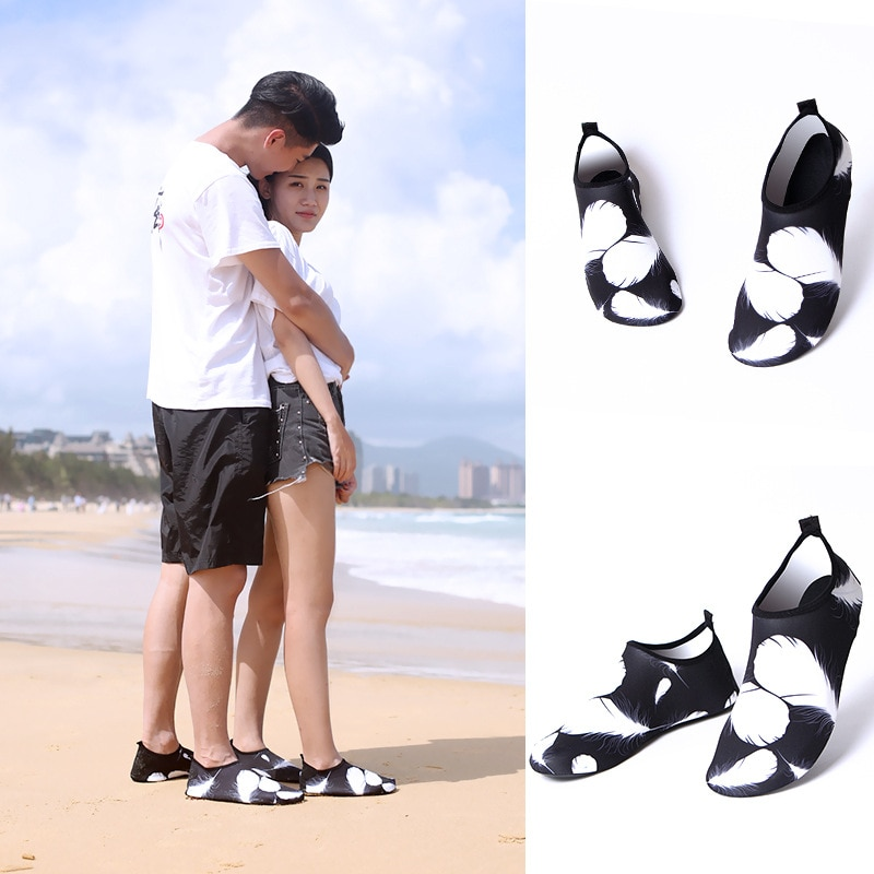 Water Shoes Quick-Dry Aqua Shoes Women and Men Barefoot for Outdoor Beach Swim Surf Yoga Rubber Reef