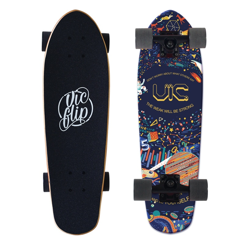 Professional Maple Skateboard Fashion Longboard Scooter Freestyle Skateboard Drift Board Rullebrett Entertainment BY50HB