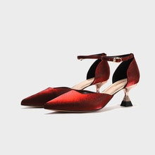 Elegant Shoes For Woman Stiletto Mary Jane Shoes Women Pumps Extreme High Heels Sexy Dress Shoes Wom
